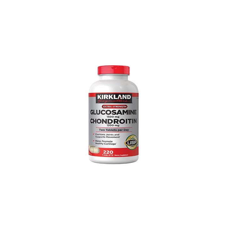 Glucosamine 1500mg / Chondroitin Sulfate 1200m 220 Tabletas